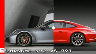 New Porsche 992 vs 991 Design   911