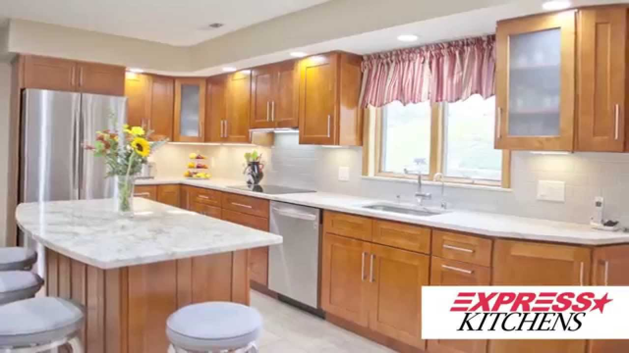 Irene U0026 Steve Dacosta From Newington, CT Share Their Express Kitchens  Experience!   YouTube