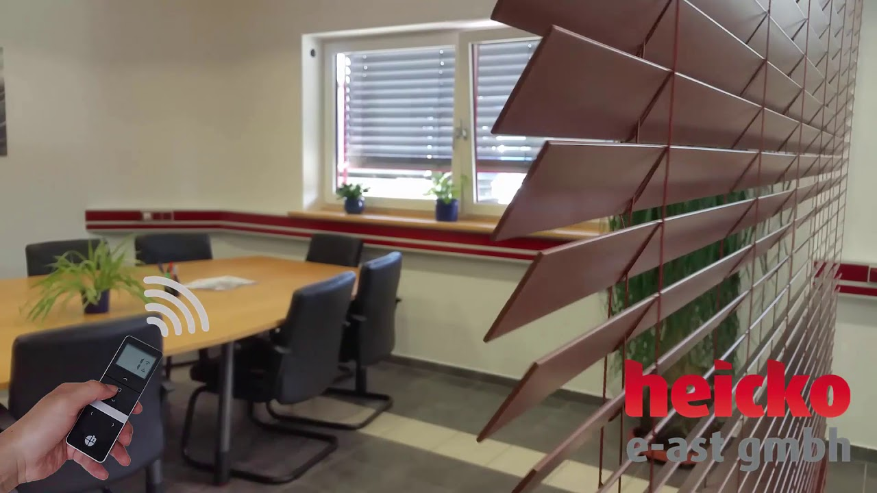 präsentieren Schnäppchen 2017 neueste Kollektion heicko automatisierte/motorisierte Jalousie mit Rohrmotor