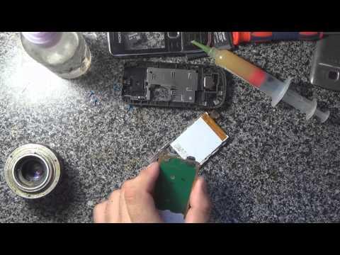 3# Восстанавливаем телефон Nokia 2700 меняем дисплей