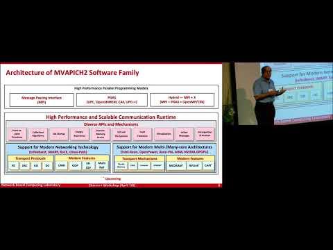 [Charm++ Workshop 2018] Keynote: Exploiting Computation and Communication Overlap..., Prof. DK Panda