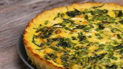 Cauliflower-Crusted Quiche