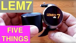 LEMFO LEM7 Android Smartwatch: FiveThings You Need To Know!