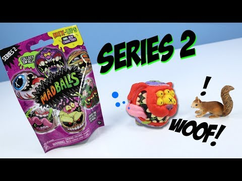 MadBalls Series 2 Blind Bag Review Mix-Ups And New Characters And Codes