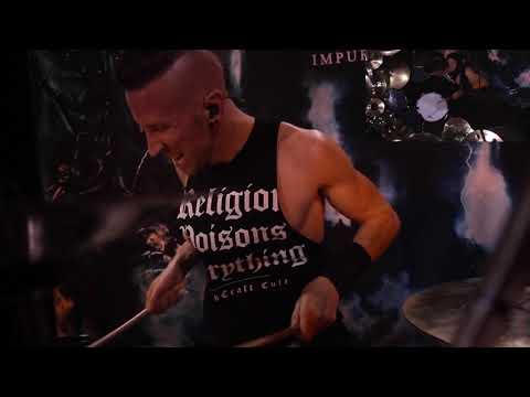 REAPING ASMODEIA - HIDEBOUND (Daniel Koppy drum playthrough)