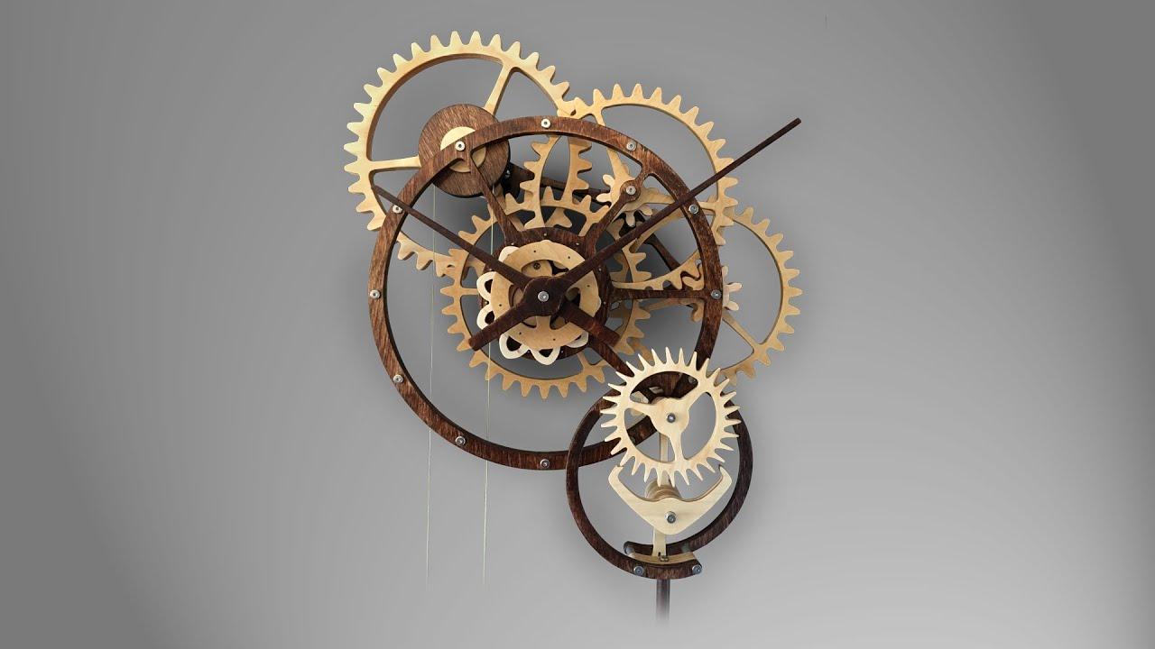 Zybach A Mechanical Clock Youtube