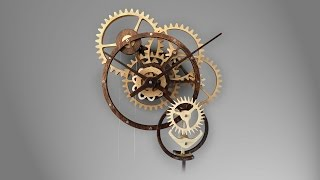 Zybach a mechanical clock