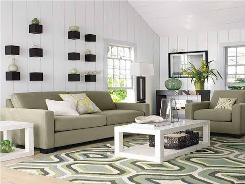 dekorasi ruang tamu rumah moderen minimalis - youtube