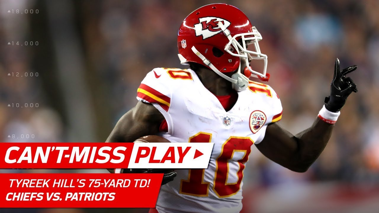 Tyreek Hill s Huge 75 Yard TD ✌ Can t Miss Play