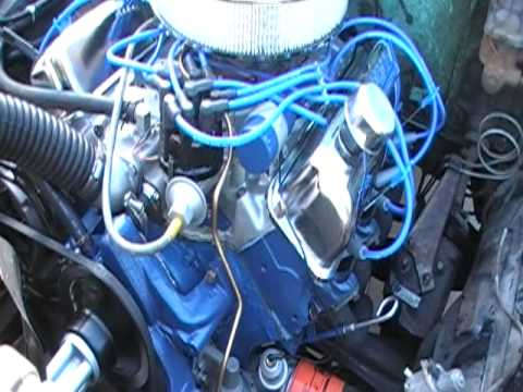 1967 Ford F100 >> 1967 ford f100 project 352ci timing it - YouTube
