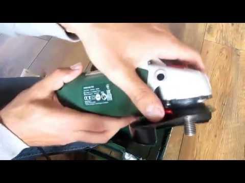 Видео обзор: Углошлифмашина 125мм BOSCH PWS 850-125 кейс