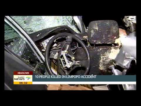 10 people killed in Limpopo accident