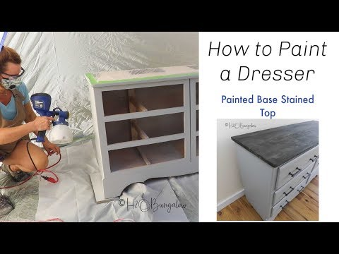 How to Paint a Dresser DIY Furniture Flip