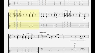 Rainbow - Since You've Been Gone - Tabs - Guitar Pro