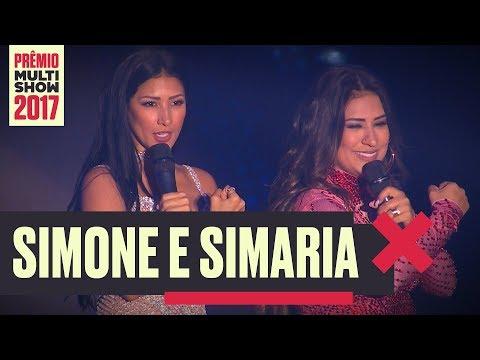 Regime Fechado   Simone e Simaria   Prêmio Multishow 2017