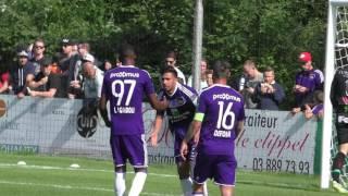 بالفيديو- ''تريزيجيه'' يسجل ثاني أهدافه مع أندرلخت في فوز عريض أمام بورنيم