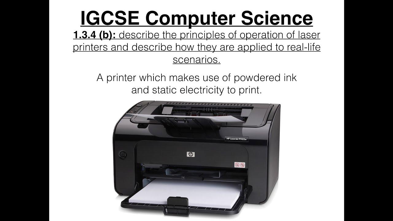 Laser and inkjet printer: the principle of printing 40