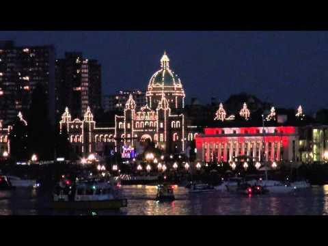 Canada Day Fireworks 2015 Victoria