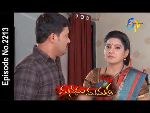 Manasu Mamata | 23rd February  2018 |Full Episode No 2213| ETV Telugu