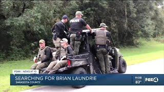 The search for Brian Laundrie comes up empty on Day 1
