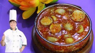 Cách làm cà pháo chua ngọt giòn rụm, ăn là ghiền