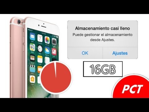 ¿Memoria Llena de Tu iPhone ? ¿Porque Tu iPhone de 16Gb , 8GB Tiene Poco Espacio ?