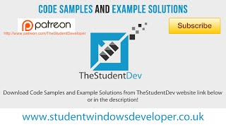 WP8 C# - Code Sample Downloads | Creating a settings page