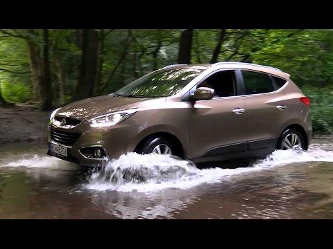 Hyundai ix35 4x4 test offroad demo