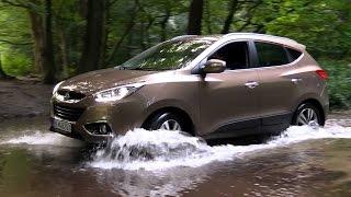Hyundai ix35 4x4 test offroad demo смотреть