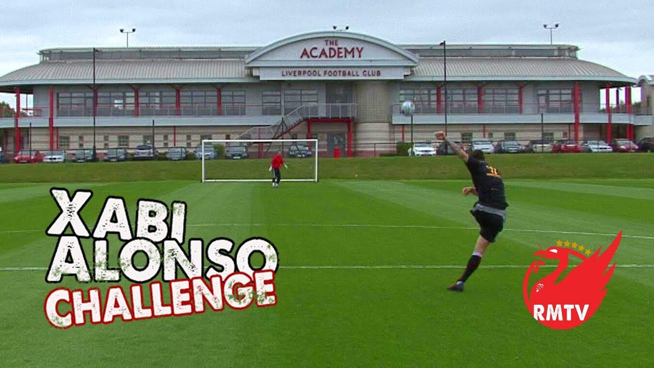 Xabi Alonso Challenge: Liverpool FC U21's SPECIAL