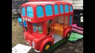 Video big red bus kiddie ride download MP3, 3GP, MP4, WEBM, AVI, FLV Juli 2018
