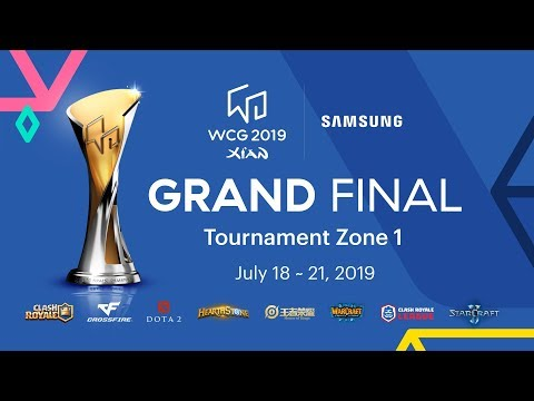 [Day 1] WCG 2019 Xi'an Grand FInal – Tournament Zone 1