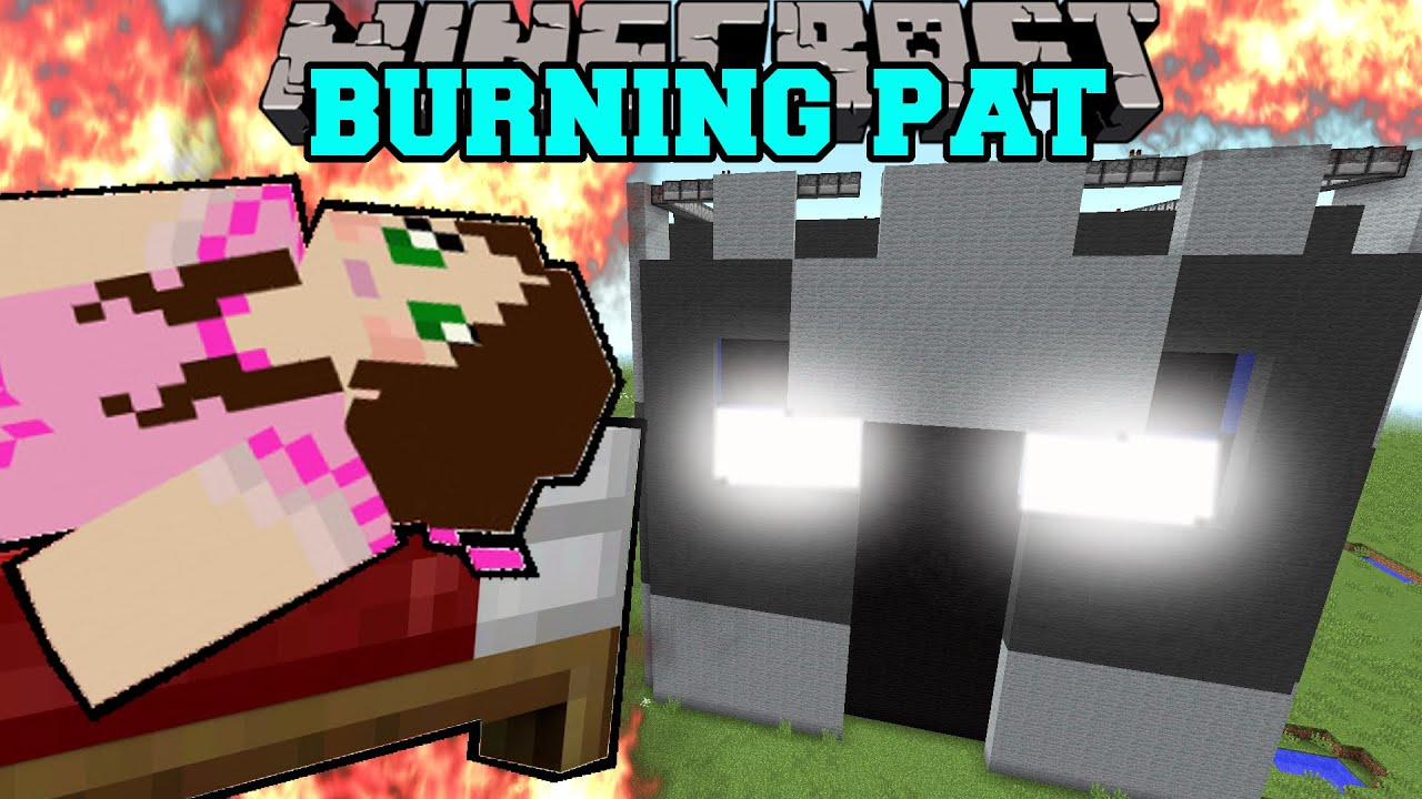 Minecraft: POPULARMMOS IS BURNING! (YOU WILL NOT SURVIVE ...
