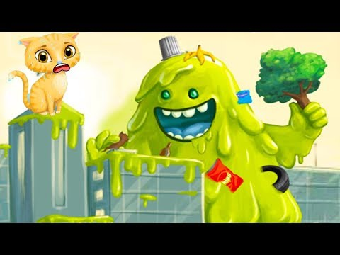 Sweet Baby Girls Super City Fun Care Kids Game- Style Makeover & Monster Rescue Care Games For Girls