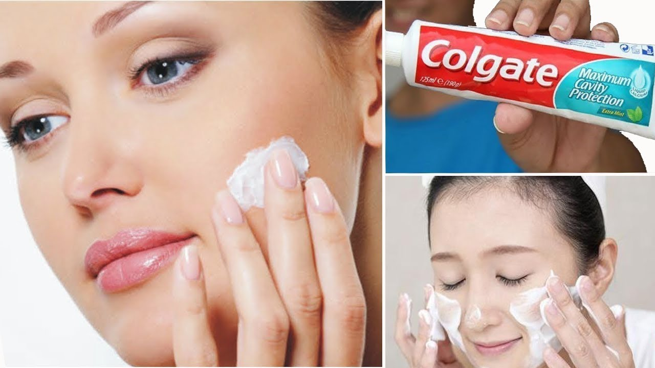 Apply Toothpaste Colgate on Your Skin and See The Magic | Amazing Toothpaste Beauty Hacks