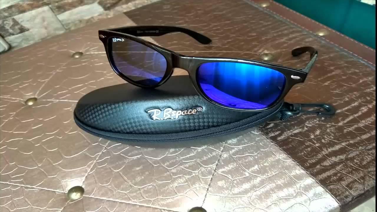 1c88583ef36b8 Unboxing de las gafas de sol R.B Space de Aliexpress en Español ...