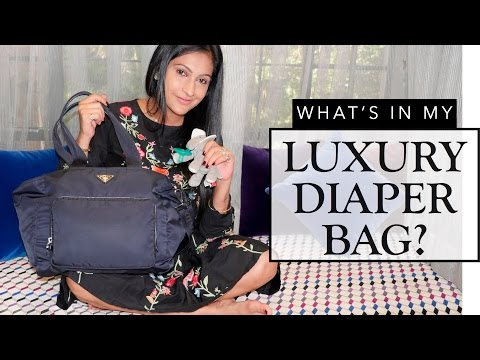 Whats in my Luxury Diaper Bag | Review | Sonal Maherali
