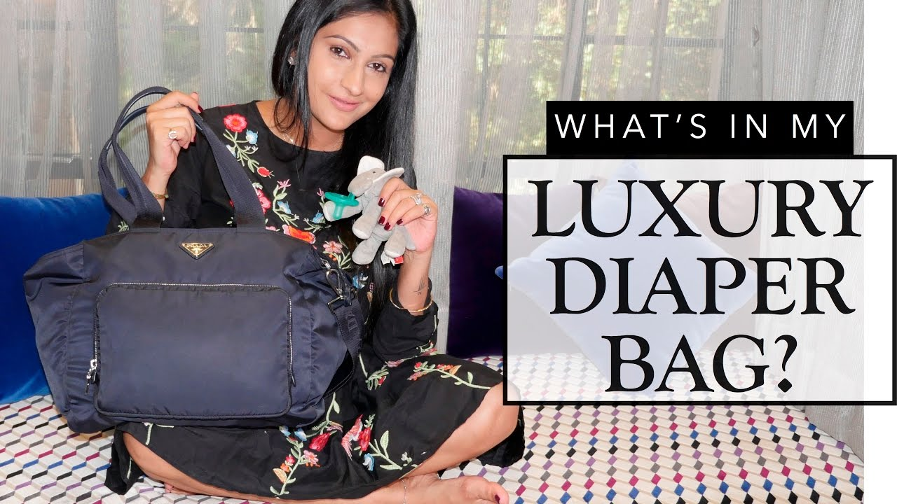 cae596b02c Whats in my Luxury Diaper Bag