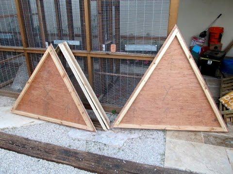 Geodesic Dome template - jig making - YouTube