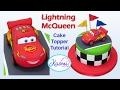 How To Make Lightning Mcqueen (Cake Topper) / Cómo Hacer A Rayo McQueen Para Tortas