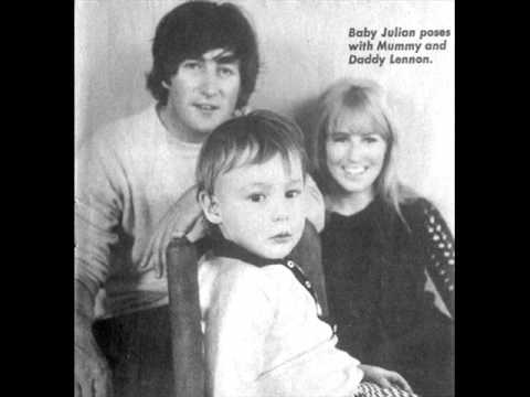 Cynthia And Julian Lennon 1964 Ish