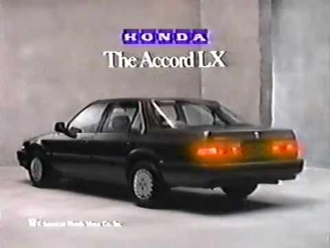 80 S Ads Honda Accord Lx 1987