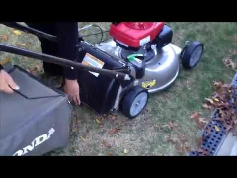 honda lawn mower hrrsda runs high   rpm funnycattv