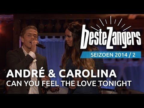 André Hazes jr. & Carolina Dijkhuizen - Can you feel the love tonight | Beste Zangers 2014