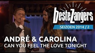 André Hazes jr. & Carolina Dijkhuizen - Can you feel the love tonight | Beste Zangers 2014