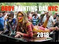 Bodypainting DAY NYC 2018. Uncensored. New York City ART