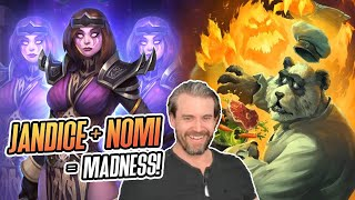 (Hearthstone Battlegrounds) Jandice + Nomi = MADNESS