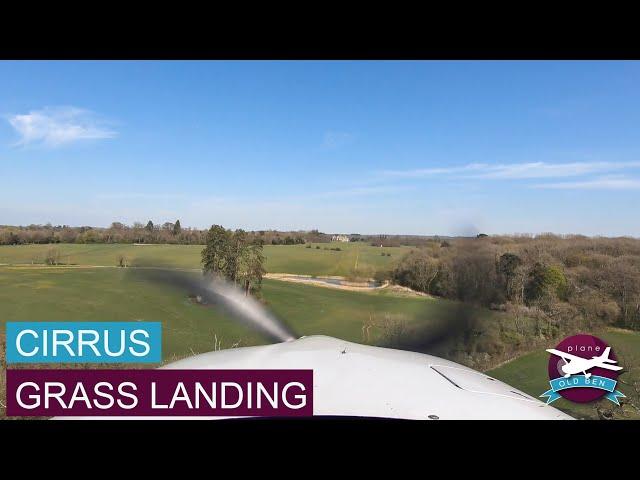 Cirrus Full Flight - Gloucester To Charlton Park | Grass Landing
