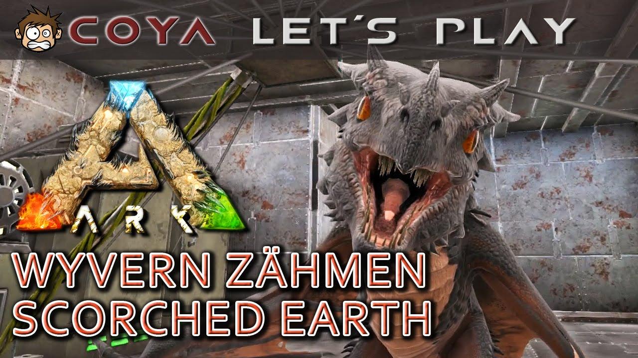 ARK SCORCHED EARTH U2022 Wyvern Zähmen U2022 Baby Drachen U2022 ARK Deutsch U2022 German    YouTube