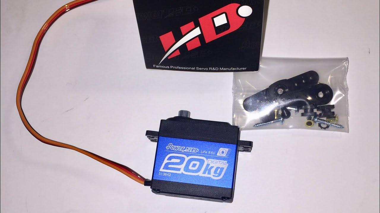Power HD DW-25LV High-Torque Digital Waterproof Servo Car Arrma Traxxas TRX 4